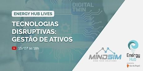 Webinar: Tecnologias Disruptivas - Gestão de Ativos ingressos