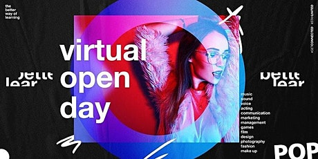 Virtual Open Day - The Better Way of Learning - Career in Music & Media tickets