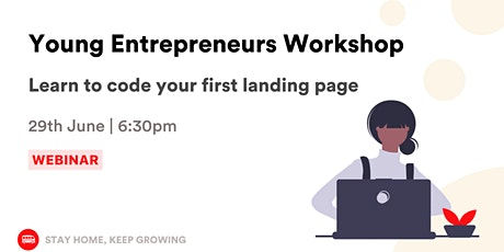 Coding Workshop for Entrepreneurs: Learn to code your first landing page tickets