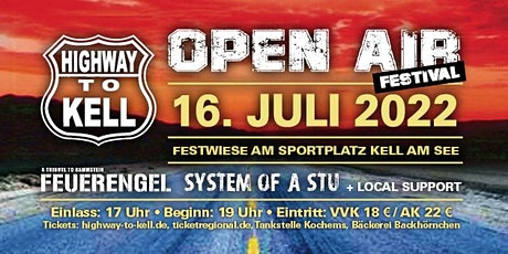 Highway To Kell Open Air 2022 Tickets