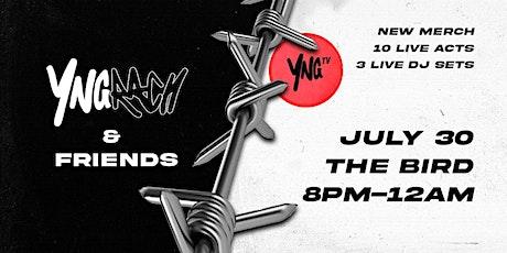YNGRACH & FRIENDS tickets
