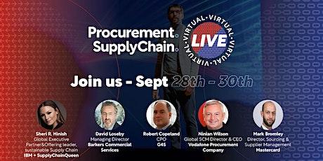 Procurement & Supply Chain Live tickets