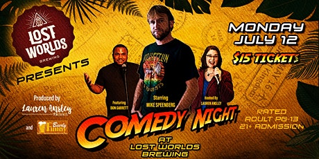 Lost Worlds Brewing Comedy Night - A Beerly Funny Production tickets