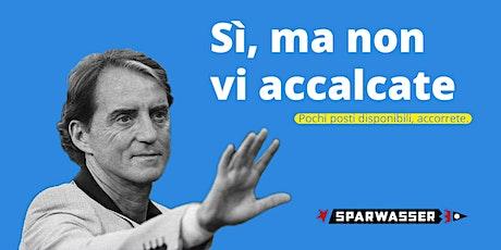EUROPEI 2021: Italia Svizzera - proiezione a Sparwasser biglietti