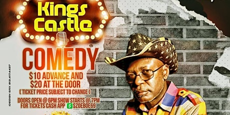 King Castle Comedy Daves tickets