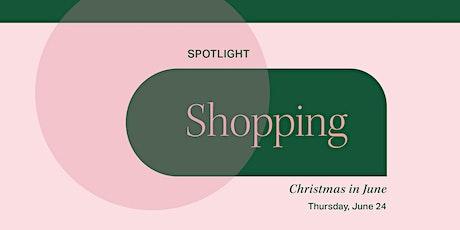 Canvas8's Spotlight On: Shopping tickets