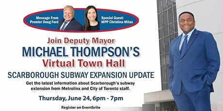 Deputy Mayor's Virtual Town Hall- Message from Premier Doug Ford tickets