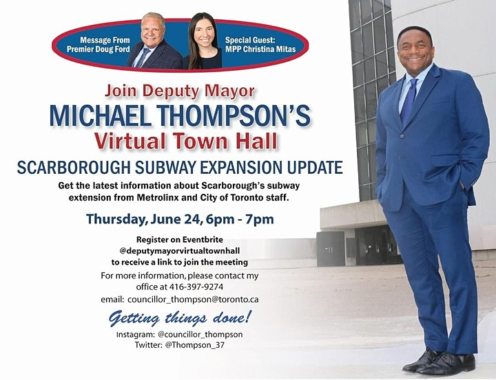 Deputy Mayor's Virtual Town Hall- Message from Premier Doug Ford image