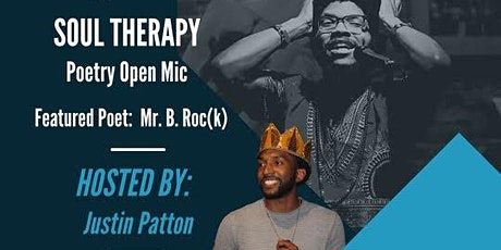 Soul Therapy Poetry Open Mic tickets