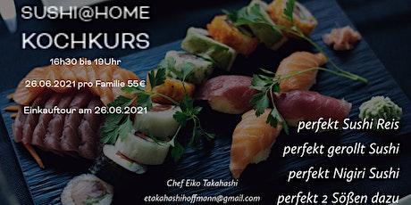 Sushi@Home Von Sushi Reis, Technik & Soßen von japanischen Köchin lernen Tickets