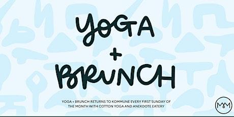 Yoga & Brunch - July tickets
