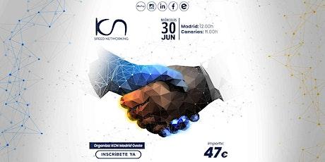 KCN Madrid Oeste Speed Networking Online 30 Jun entradas