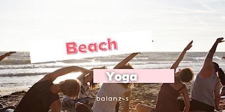 Beach yoga - masterclass tickets