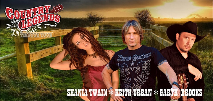 Country Legends Tribute to Garth Brooks, Shania Twain, & Keith Urban image