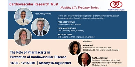 Pharmacists in Prevention of Cardiovascular Disease tickets