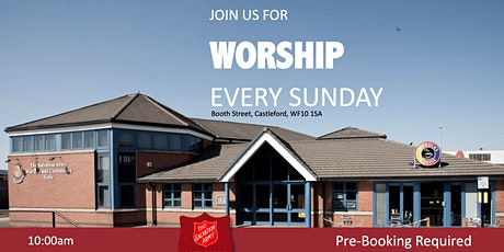 Sunday Worship 20th June 2021 @ Castleford Salvation Army tickets