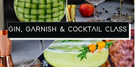 Free Virtual Gin, Garnish and Cocktail Class with Vemacity live from Gin71. tickets
