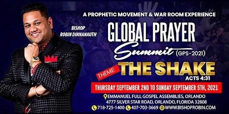 "Global Prayer Summit ""The Shake"" tickets"