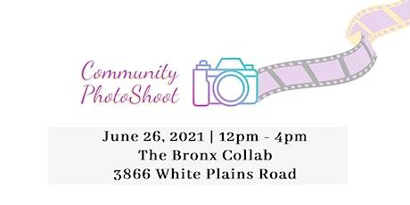 Community Photo Shoot - June 26th tickets