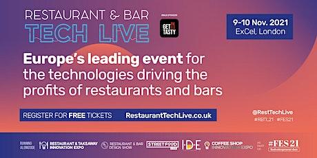 Restaurant & Bar Tech Live tickets