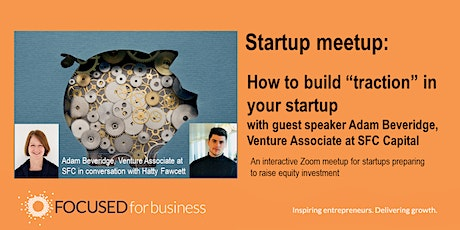 Startup Meetup: How to build traction in your startup tickets