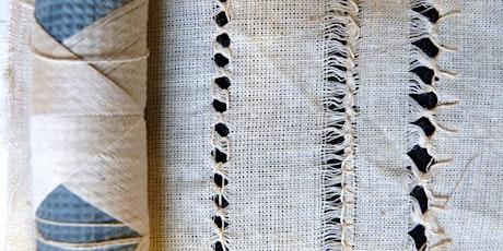 Drawn Threadwork Embroidery Workshop (Online) tickets