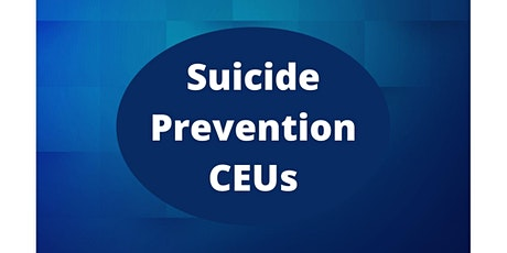 Cultural Differences in Suicide Prevention tickets