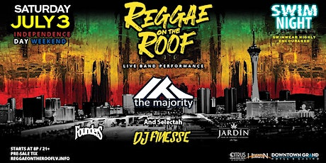 Reggae On The Roof  Independence Day Weekend tickets
