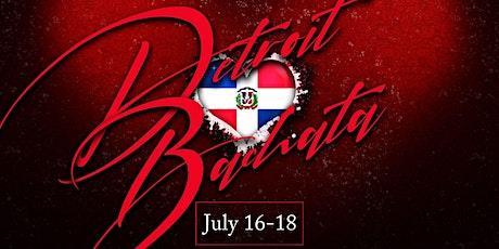 Detroit ❤️'s Bachata tickets