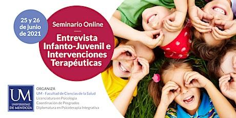 Entrevista Infanto-Juvenil e Intervenciones  Terapéuticas entradas