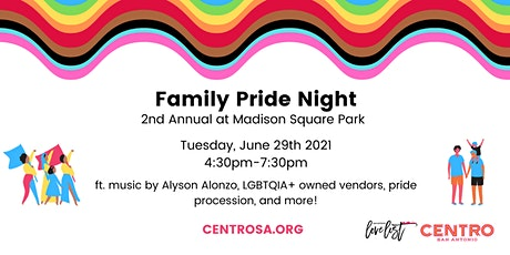 2nd Annual Family Pride Night tickets