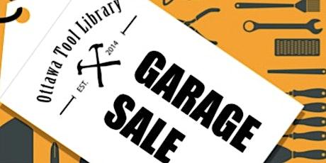 Garage Sale tickets