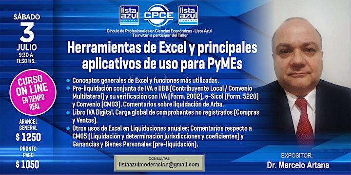 Imagen de Herramientas de Excel y principales aplicativos de uso para PyMEs