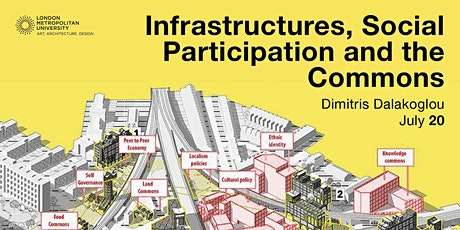 Infrastructures, social participation and the commons. tickets