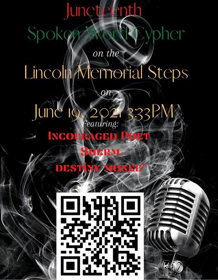 Juneteenth Poetry Cypher image