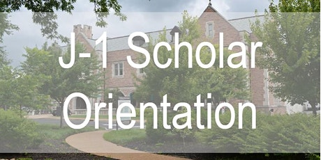 J-1 Scholar Online Orientation: Danforth & Medical Campuses tickets