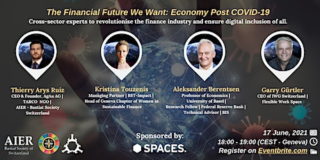 The Financial Future We Want: Economy Post COVID-19 tickets
