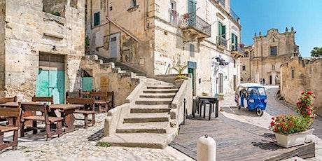 Tour panoramico in tuk tuk dei Sassi di Matera tickets