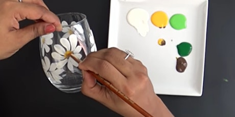 Let's Craft - Hand painted glass tumblers tickets