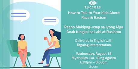How to Talk to Your Kids About Race & Racism (with Tagalog Interpretation) tickets