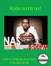 Roundtrip Transportation to Nas Concert at State Fair tickets