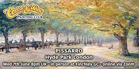Paint PISSARRO - 'Hyde Park London'- ZOOM Class tickets