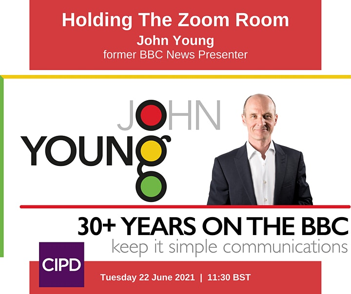 Take 2 - Holding the Zoom Room — by former BBC News Presenter, John Young image