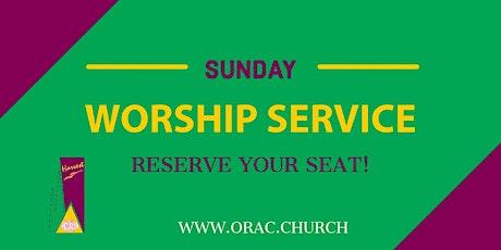 Sunday Worship Service - July 25th tickets