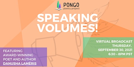 Speaking Volumes: Pongo's 2nd Annual Fall Fundraiser tickets