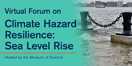 Virtual Forum on Climate Hazard Resilience: Sea Level Rise Tickets