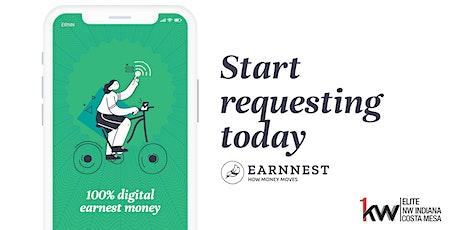 We're Taking Earnest Money Digital  tickets