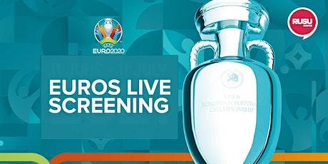 EUROS LIVE SCREENING // ENGLAND V CZECH REPUBLIC tickets