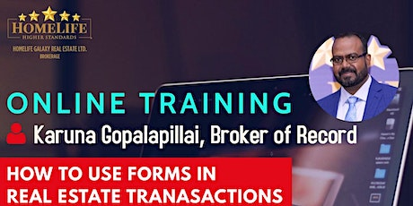 How to use Forms in Real Estate Transactions Tickets