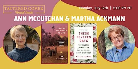 Live Stream with Ann McCutchan & Martha Ackmann tickets